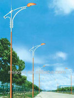 galvanized steel street lamp post light pole