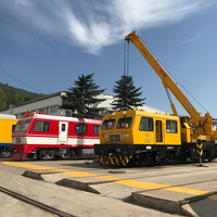 The Locomotive Rail Cars Rail Crane