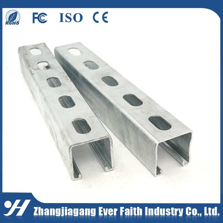 High Strength Stainless steel c channel standard sizes