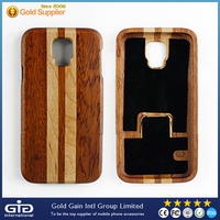 [GGIT] Popular Design Wood Bamboo Mobile Phone Case for Samsung for Galaxy S5