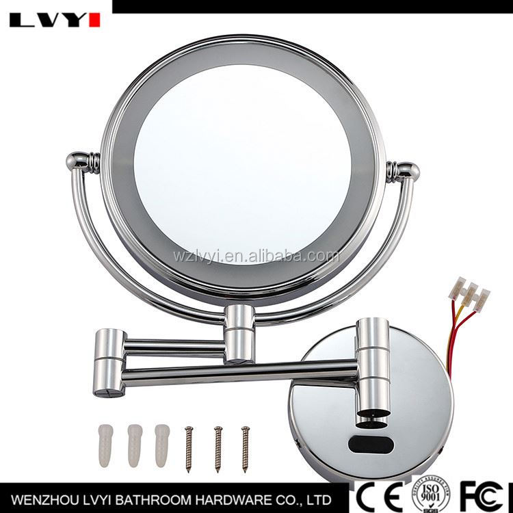 Most popular low price hotel bathroom shaving mirror fast delivery