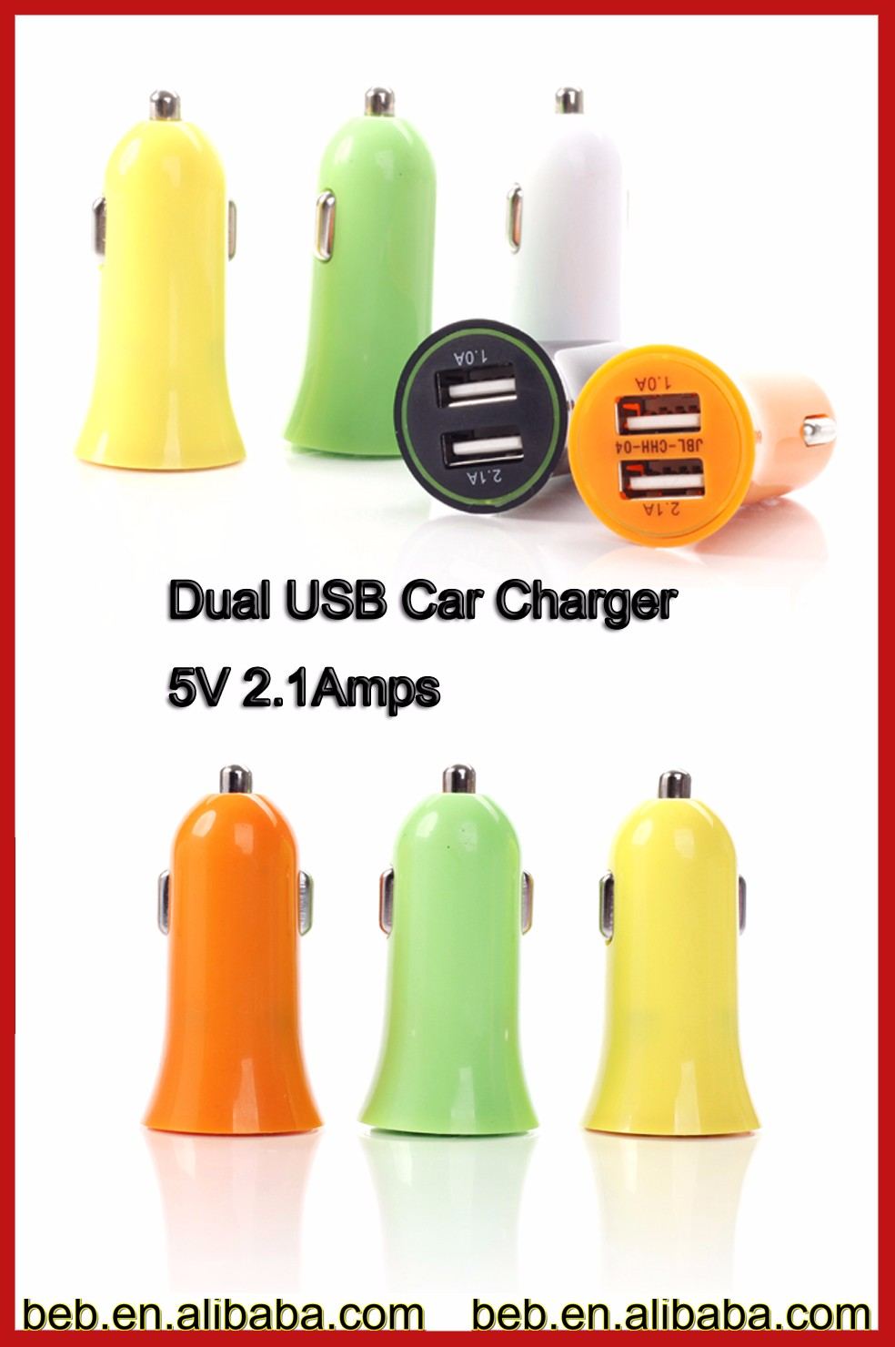 Manufacture usb car charger for ipad 2 3 4