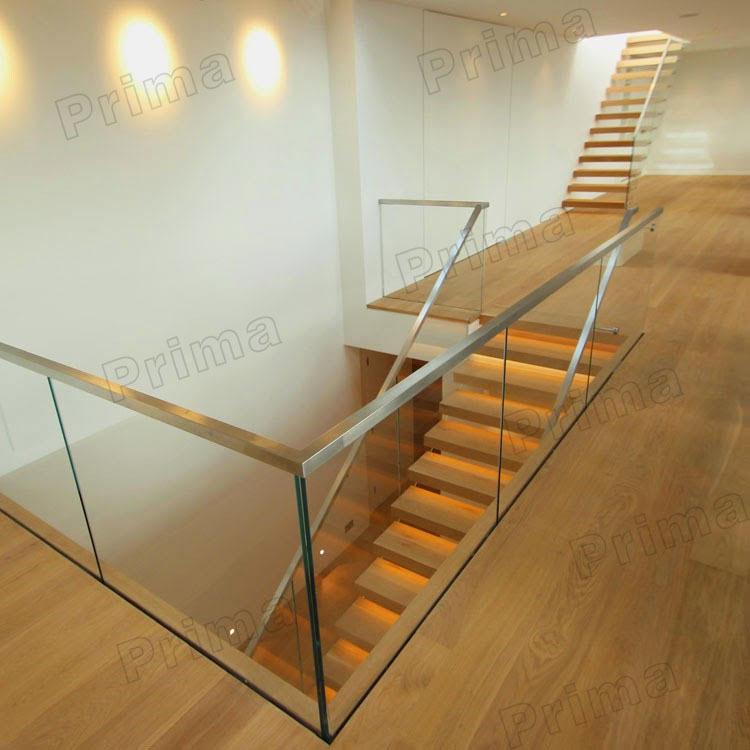 handlauf aus edelstahl glas gel nder glasgel nder holz treppe br stung und gel nder produkt id. Black Bedroom Furniture Sets. Home Design Ideas