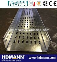 electrical galvanized perforated cable tray supplier