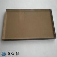 Hot sale toughened glass panels,tinted tempered glass for buildings