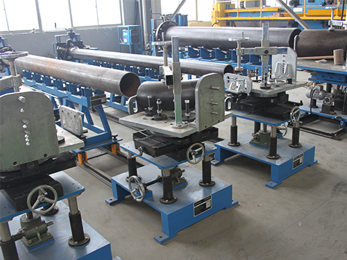 Multi-Function Pipe Fitting-up Station for Pipe Spool Fabrication