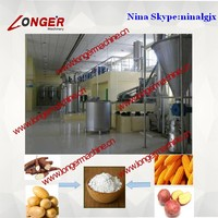 Sweet Potato/Potato/Topioca/Cassava/Corn Starch/Flour/Power Production Line