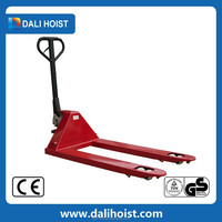 high quality hand pallet truck trolley warehouse move by battery scissor lift pallet truck for sale dgb