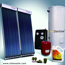 600L 10 people family use solar heating systems for homes