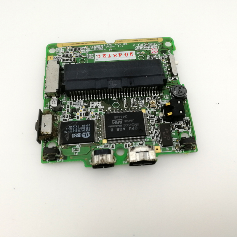 original refurbished  used console for Nintendo for gameboy advance for gba Sp PCB Mainboard  game player