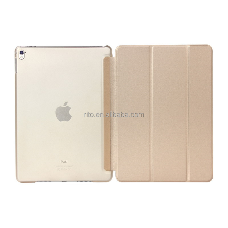 For iPad Pro 9.7 Case, Smart Cover Case for iPad Pro 9.7 iPad 7 All in one Gold