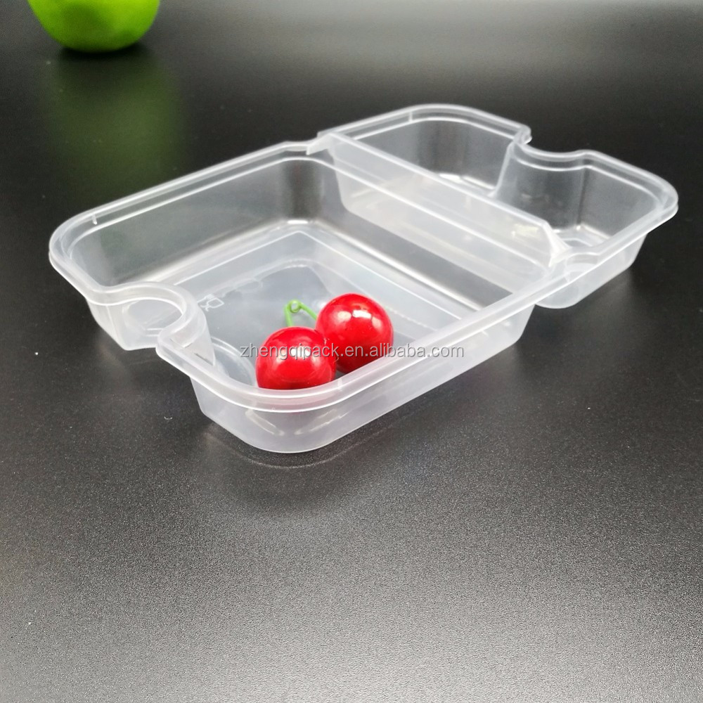 High quality plastic disposable food container microwave safe