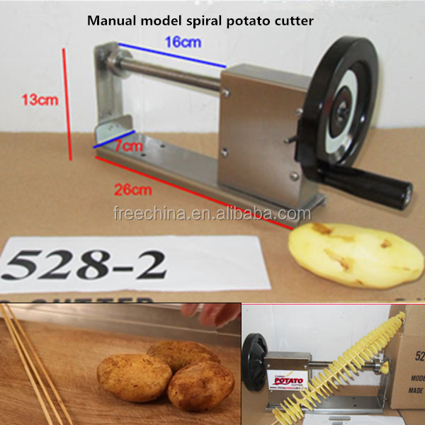 twister potato chips machine