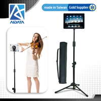 Rotating Adjustable Folding Tripod Tablet Mount for iPad
