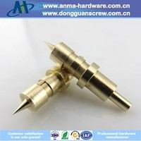 Precision CNC precision brass machinery part with electric equipment