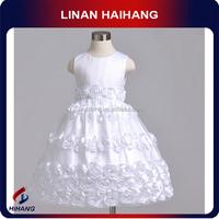 high quality peter collar GIRLS baby dress China manufacturer