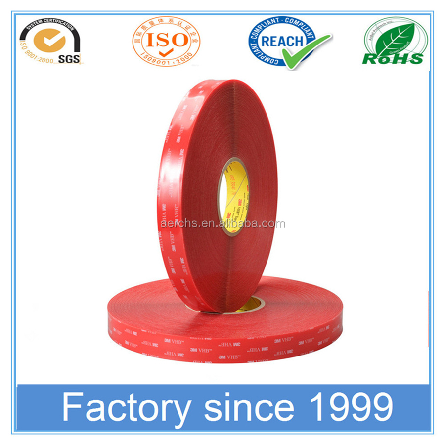 Factory Selling Silicone Adhesive VHB Foam Acrylic Double Sided Tape