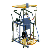 Electric lifting standing frame to do standing exercise