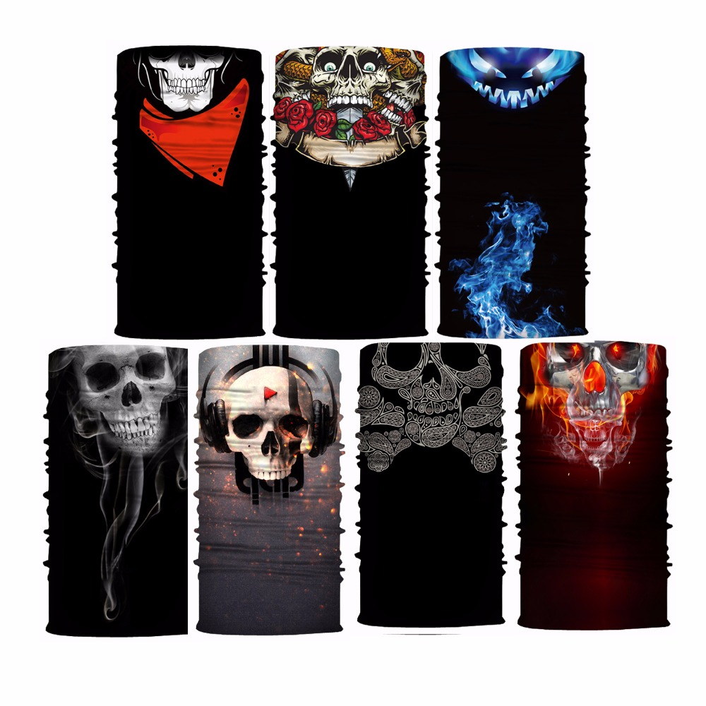 Outdoor Wholesale Custom Seamless Tubular Bandana