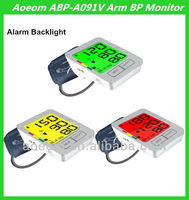 with three color backlight alarm Voice Multi function blood pressure apparatus