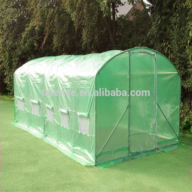 Zhejiang import large garden for strawberry aluminum green house kits