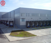 Light frame structural steel warehouse with CE certificate