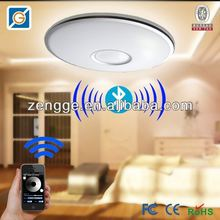 matching ceiling and wall lights with multi color led remote control