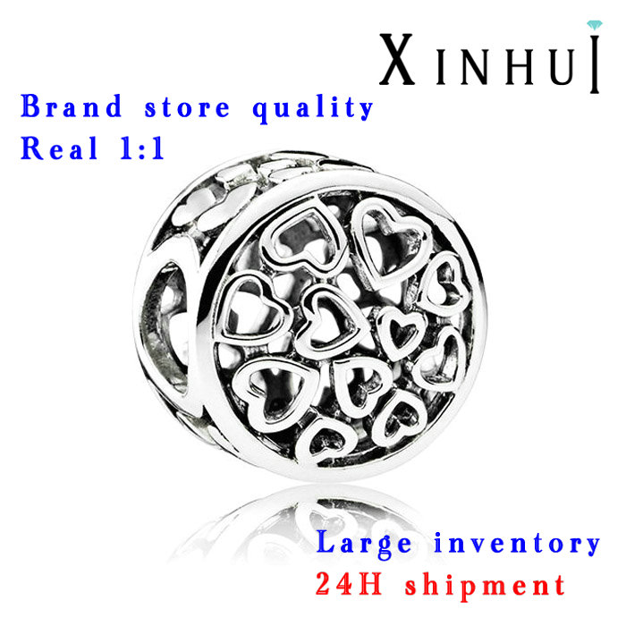 XINHUI 2017 hot pulseira fit pandoras factory wholesale 1:1 DIY bead