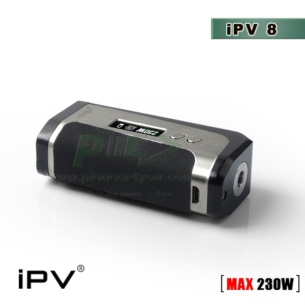 iPV8 230W vapor mod Pioneer4you original ecigs shipping fast