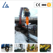 hydraulic portable earth auger ground drill