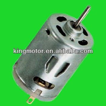 RS380 hair dryer dc Motor