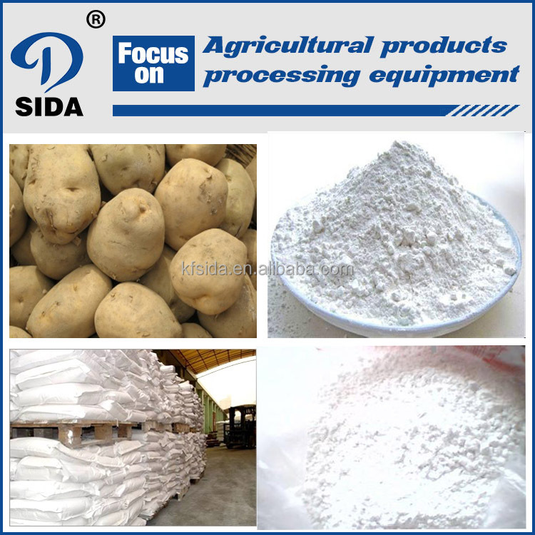 CE certificated potato starch production line