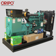 Three phase four wires electric start outdoor 110kva diesel generator genset