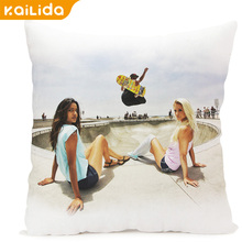 China wholesale customized logo gift pillow case chair cover
