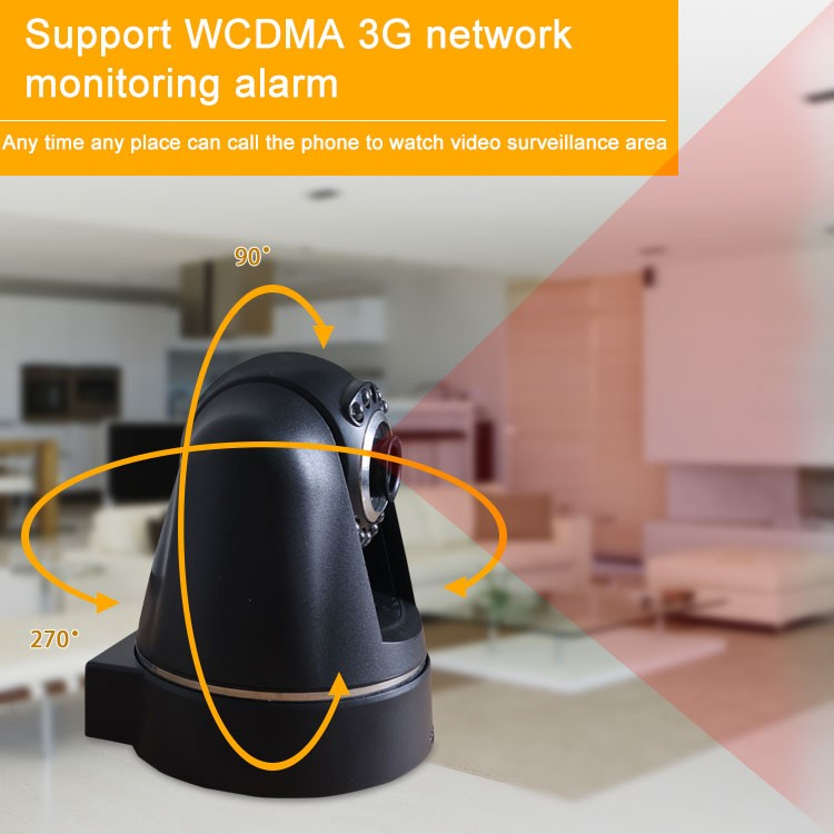 2016 wireless GSM alarm system smart home 3g video call camera security camera system