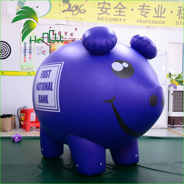 Promotional Helium Giant Pig Model / Advertising Inflatable Pig Balloons / Toy Pig Balloon