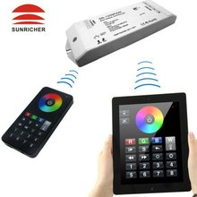 WiFi/Bluetooth 8 Zones RGB Led controller for Iphone,Ipad and android