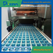 China 25g laundry dishwasher powder capsules filling packing machine