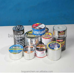 1.5mm aluminium foil Self adhesive tape waterproof bitumen(China supplier)