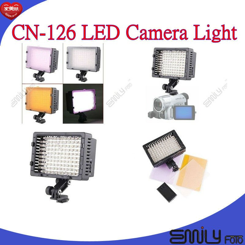 CN-126 LED camera light for Nikon Canon Sony Wholesale