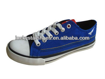 Men Canvas Shoe Made in China