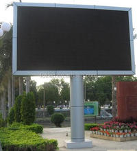 double sided outdoor led open sign P10 high quality screen