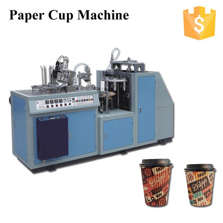 Factory Supply OEM design used paper cup machine for wholesale