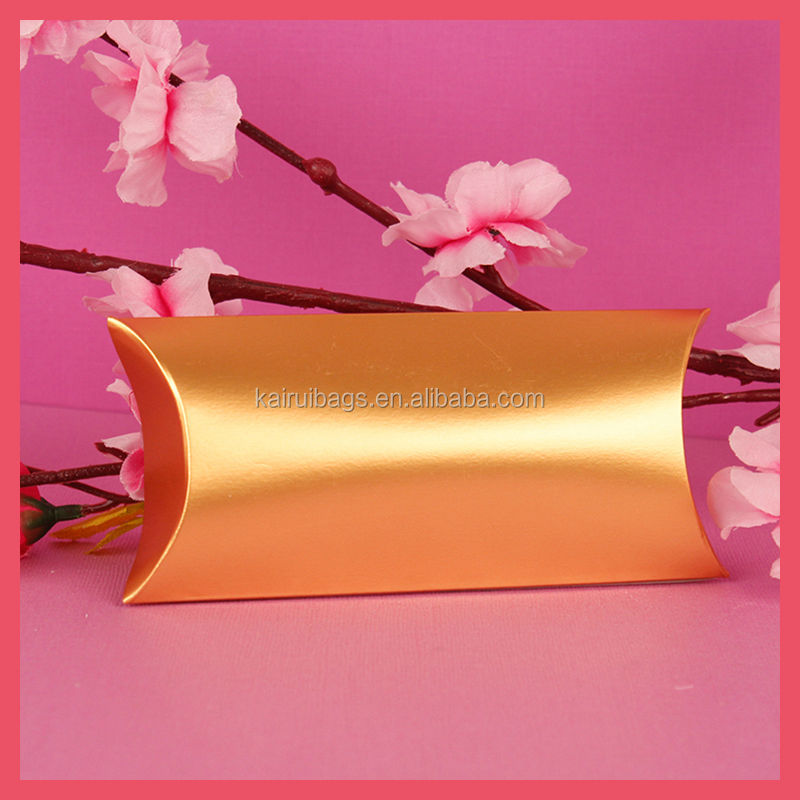 Large Capacity Printed Customized Paper Pillow Box