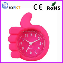 Mini Colorful Gift Chime Table Clock Promotion Alarm Clock OEM