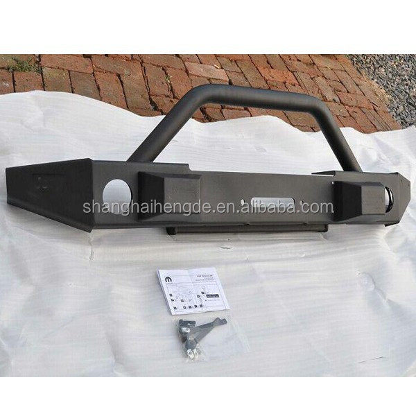 High quality FOR Jeep Jk Wrangler MOPAR Front Off-Road Bumper With Fog Lamp Holes