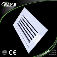 aluminum wall mounted return air diffuser hinged air conditioner air vent grille for HVAC
