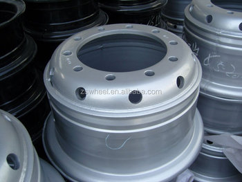 truck tube steel wheel rims 8.5-20 with good quality and best price