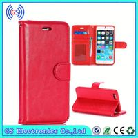 2015 Fashion Crazy Horse Leather Case, Flip Leather Case For Lenovo A850+,Best Selling Leather Case
