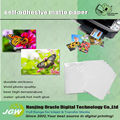 115g/135g glossy sticker paper, types paper sticker ,self adhesive paper